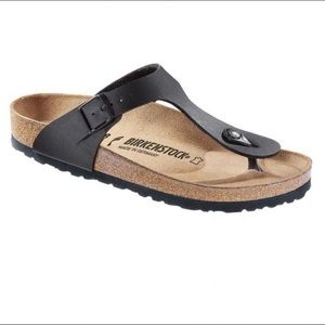 NIB Birkenstock Gizeh Black Sandals - Price Firm